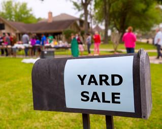 Mega Fundraiser Yard Sale