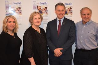 Schiefke encourages region's families to attend upcoming Maison de la Famille fundraiser