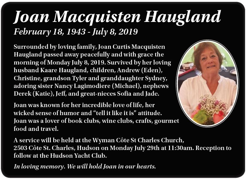 Joan Macquisten Haugland