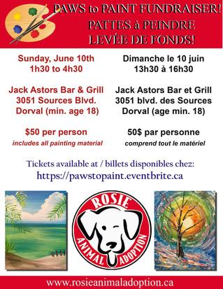 Fundraiser for Rosie Animal Adoption