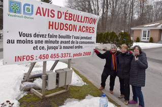 Potable water aqueduct delayed for Tree Farm and Hudson Acres residents
