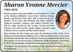 Sharon Yvonne Mercier