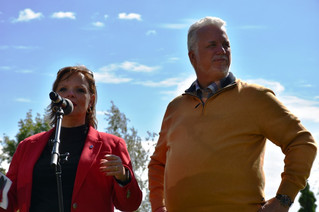 Premier Philippe Couillard attends Liberal picnic in Soulanges riding