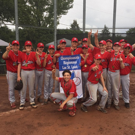 Saint-Lazare Mustangs are Regional Champs
