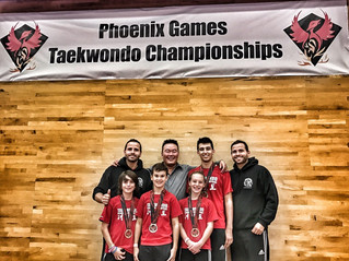 Another great weekend for VSLL Taekwondo
