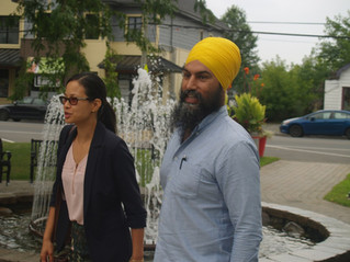 NDP leader visits Coteau-du-Lac during tour of Quebec