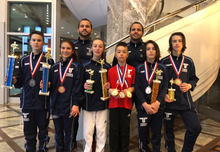 Gold in Toronto for Twins Taekwondo
