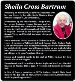 Sheila Cross Bartram
