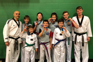 Winning weekend for Saint-Lazare Taekwondo