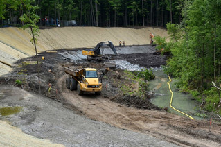 Chaline Valley stabilization project well underway