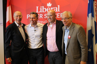 Liberal campaign office launch