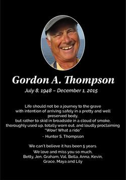 Gordon A. Thompson