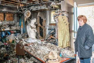 Hudson's Boutique NOVA holds fire sale in response to blaze set by arsonist