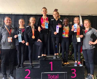 20 awards for Gymini gymnasts at the Provincial Cup