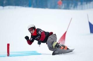Snowboarding gold