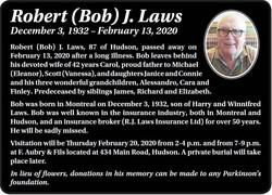 Robert (Bob) J. Laws