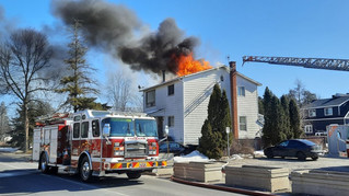 House fire in L'Île-Perrot