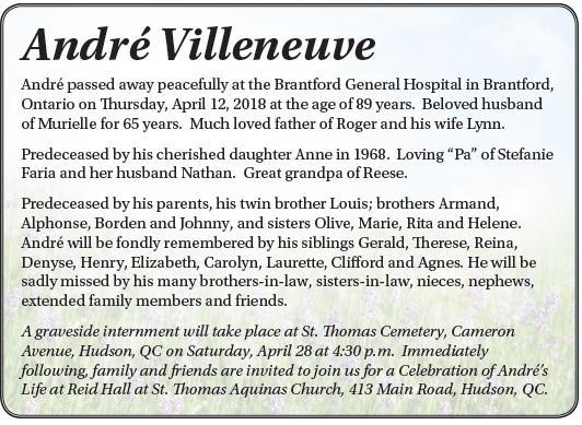 André Villeneuve