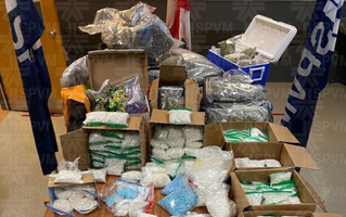 Major drug and firearms seizure in the West Island
