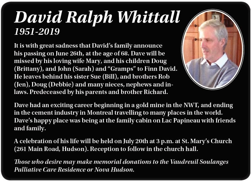 David Ralph Whittall