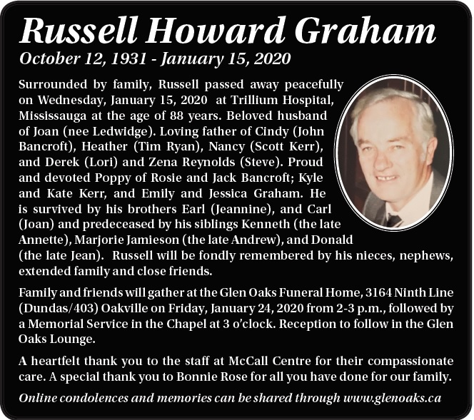 Russell Howard Graham