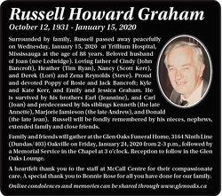 Russell Howard Graham