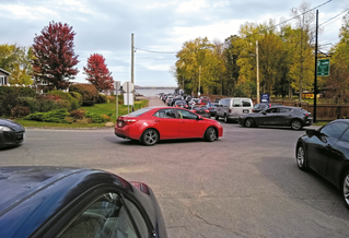 Hudson ferry traffic fuels frustration