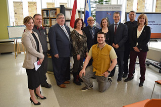 Pincourt receives federal grant to make access easier for people with disabilities
