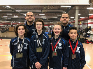 Golden Weekend at Toronto Open for Twins Taekwondo