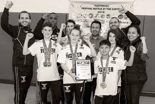 Twins Taekwondo end a stellar 2018