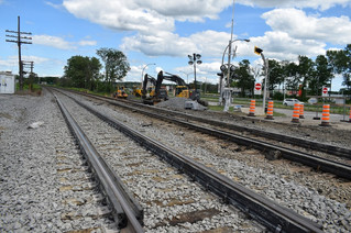 Terrasse-Vaudreuil railroad crossing improvements nearly finished