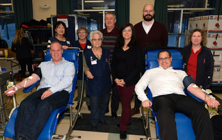 January blood drive in Saint-Lazare: Thank you to our 139 donors!