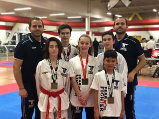 Twins Taekwondo take Toronto