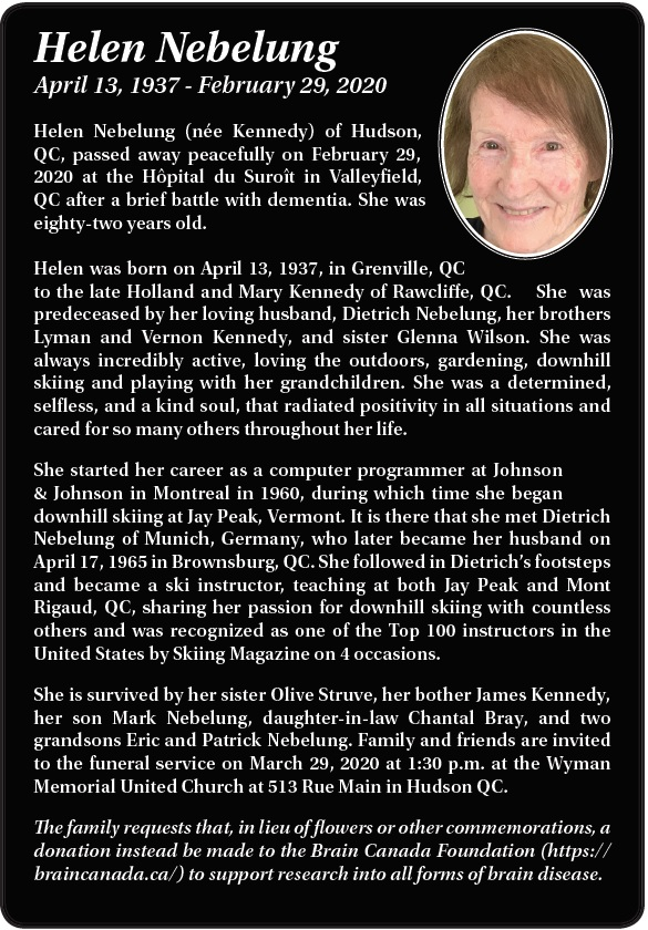Helen Nebelung