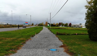 Dumberry bike path in Vaudreuil Dorion will be paved by early November