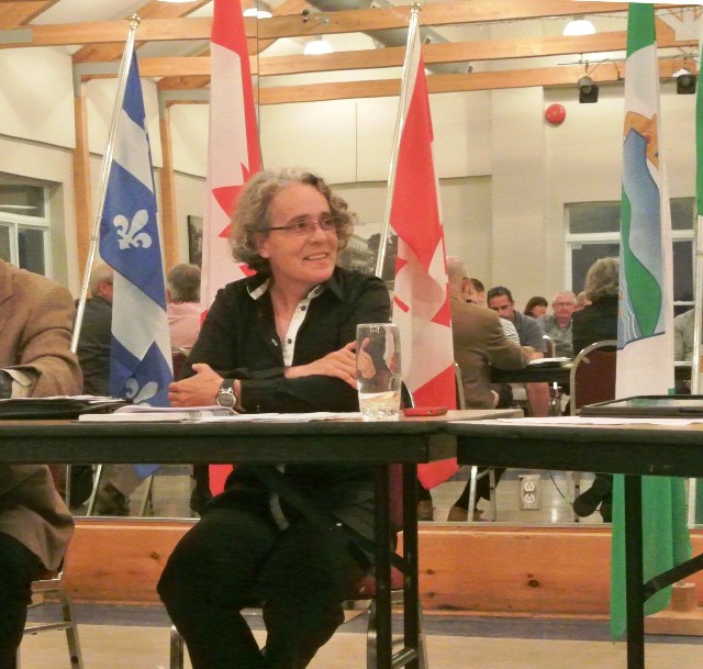 YLJ FILE PHOTO/JAMES ARMSTRONG Hudson Director General Catherine Haulard has been given a two week unpaid suspension following a conflict arising over the ongoing negotiations of the collective agreement of the town's unionized employees.
