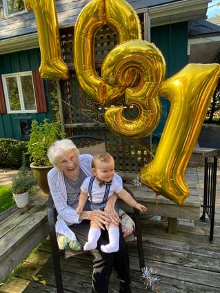 Happy birthday Elsie!