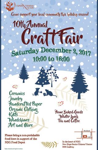 Fundraiser craft fair