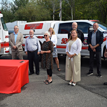 NDIP and Pincourt welcome new emergency services agreement