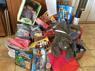 Toy drive for kids in care