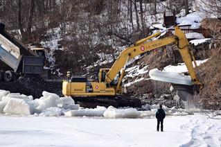 Landslide stabilization work begins in Notre-Dame-de-l'Île-Perrot