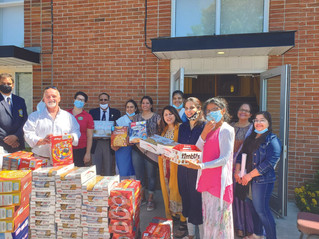 Major food donation to Moisson Sud-Ouest