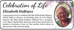 Elizabeth DuBoyce