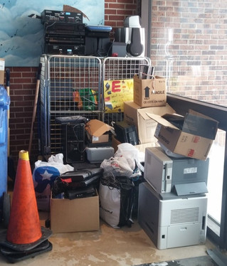 Mount Pleasant School launches second annual e-waste collection drive
