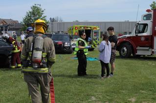Accident simulation teaches tough lesson