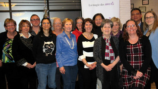 La magie des mots celebrates the magic of their precious volunteers