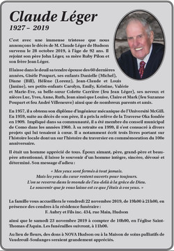 Claude Léger
