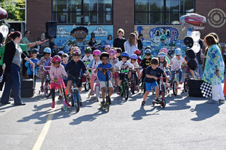 Wheel-a-thon at St. Patrick elementary raises money for Bearers of Love charity