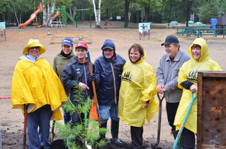 Community of St. Lazare comes together for the annual tree planting