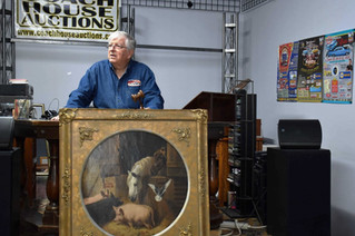 Cornelius Krieghoff oil painting will go under the hammer in local auction